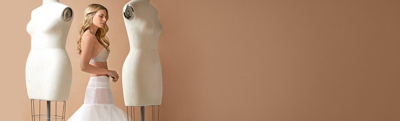 Hochzeitskleid Unterrock