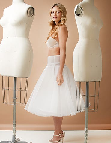 Short Underskirt - adds bounce to tea-length dresses