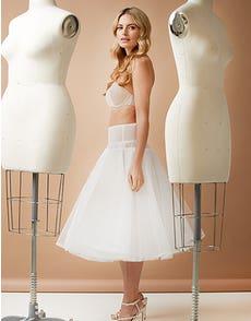 Short Underskirt - voegt veerkracht toe aan thea-length jurken