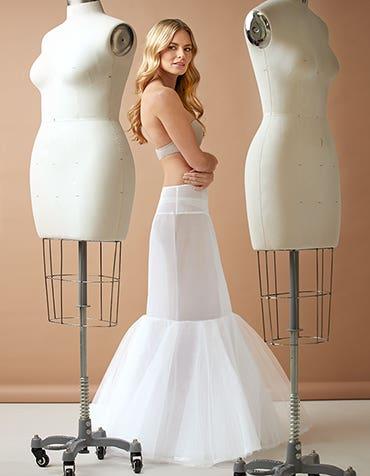 Mermaid Underskirt - adds definition to any mermaid gown