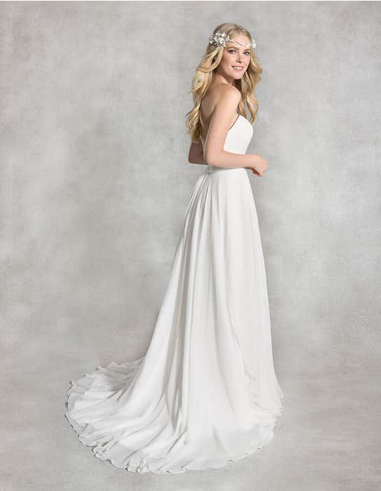 Adeline sheath wedding dress back Heidi Hudson