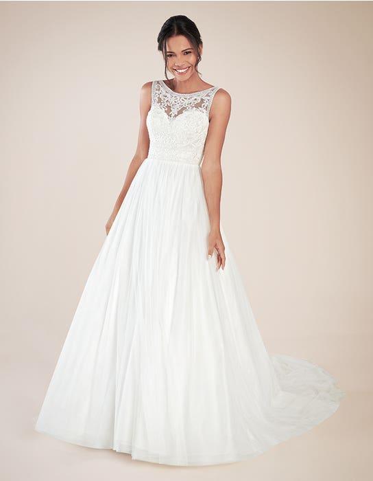 Adelpha Aline wedding dress front Anna Sorrano