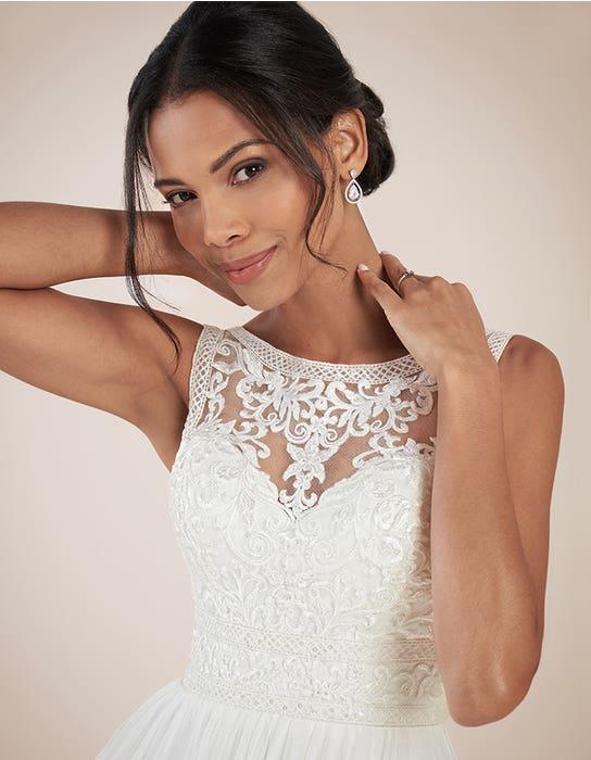 Adelpha Aline wedding dress front crop Anna Sorrano