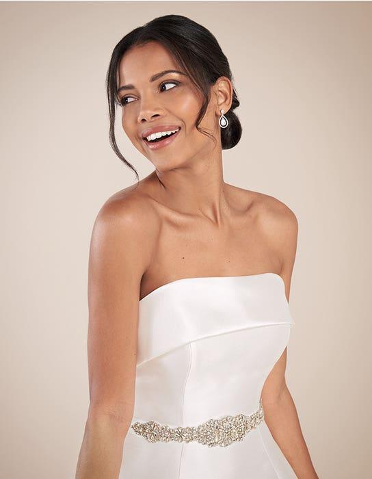 Aden aline wedding dress front crop2 Anna Sorrano