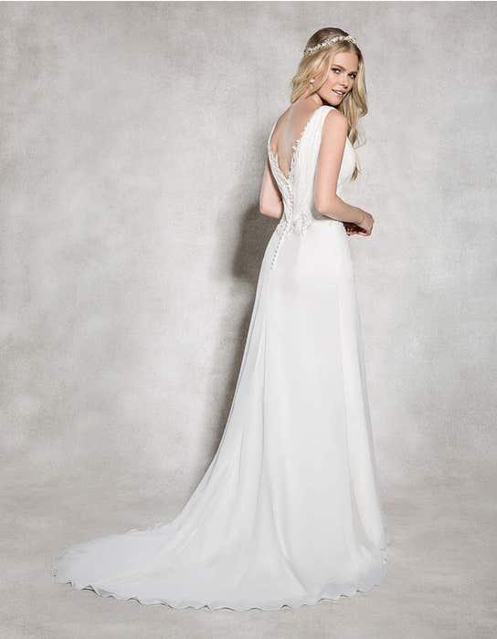 Adriana aline wedding dress back Heidi Hudson