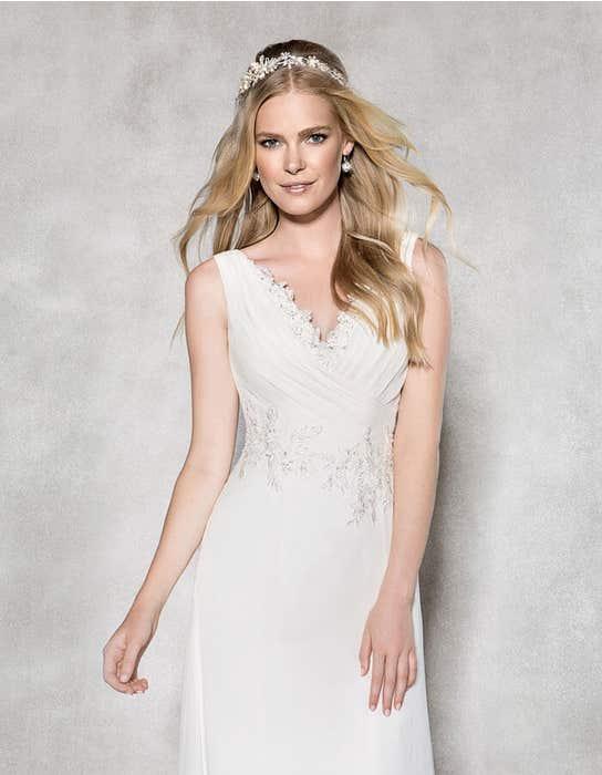 Adriana aline wedding dress crop front Heidi Hudson
