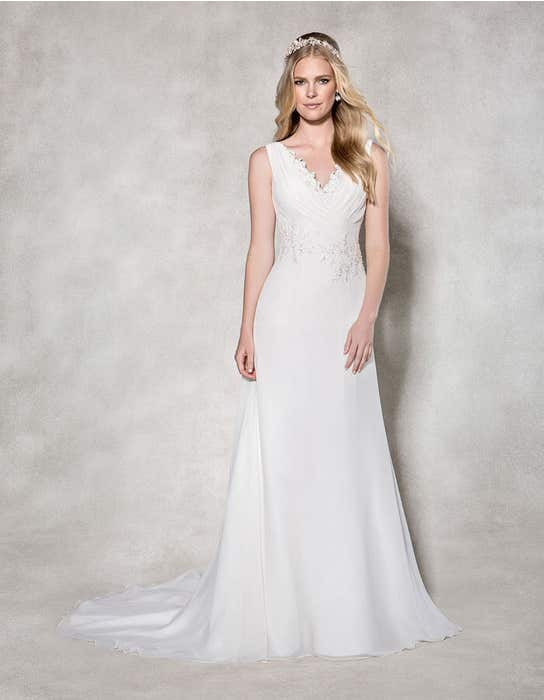 Adriana aline wedding dress front Heidi Hudson