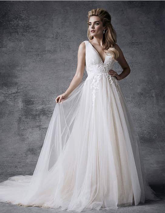 Alaia aline wedding dress front Signature
