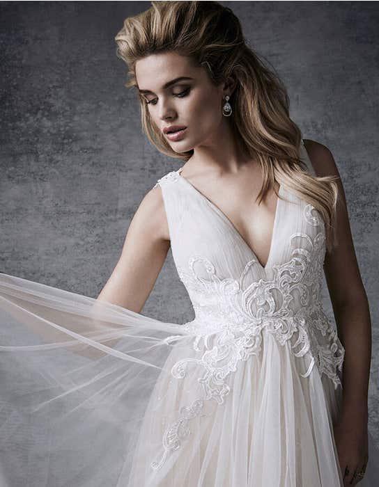 Alaia aline wedding dress front crop Signature