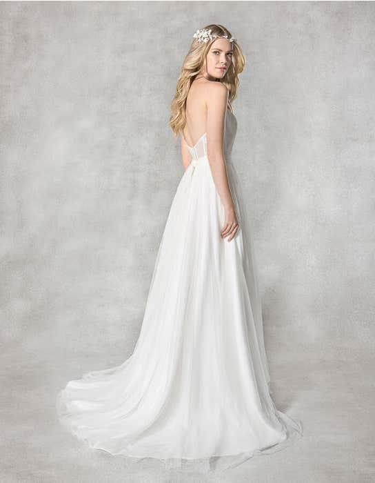 Alicia aline wedding dress back Heidi Hudson