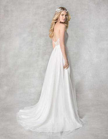 ALICIA - a tulle and lace aline | WED2B