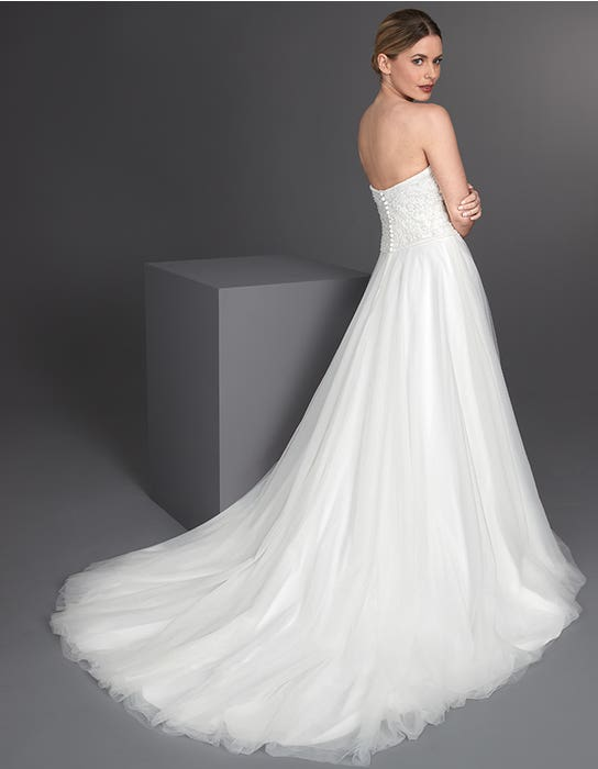 Allegra Aline wedding dress back The Signature Collection