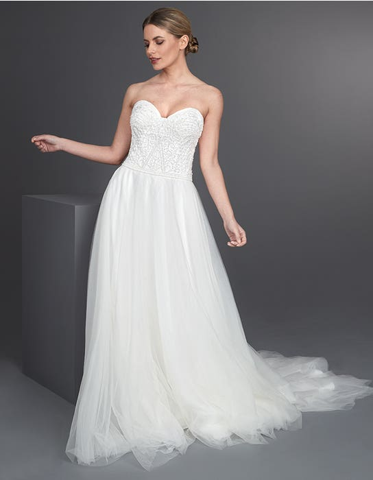 Allegra Aline wedding dress front The Signature Collection