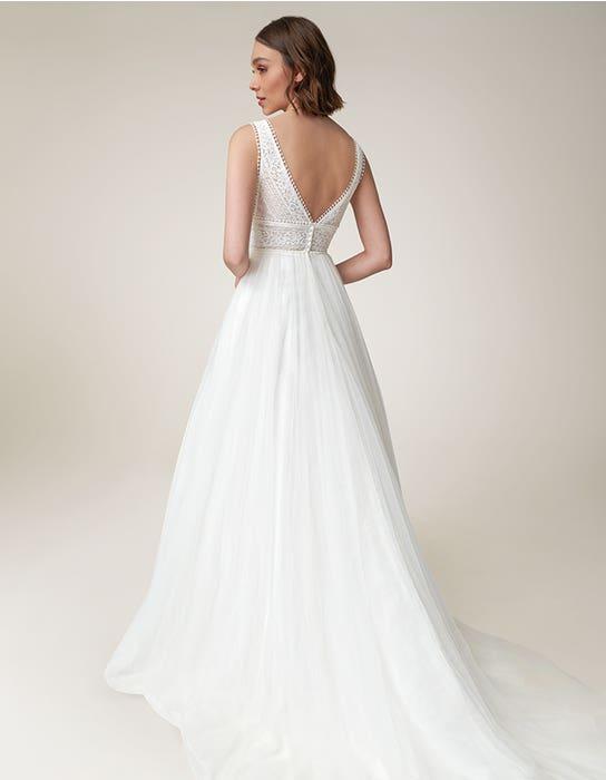 Alma Aline wedding dress back Heidi Hudson