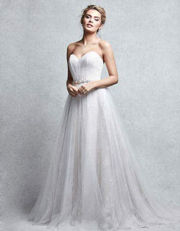 ALTHEA - a sweetheart A-line gown