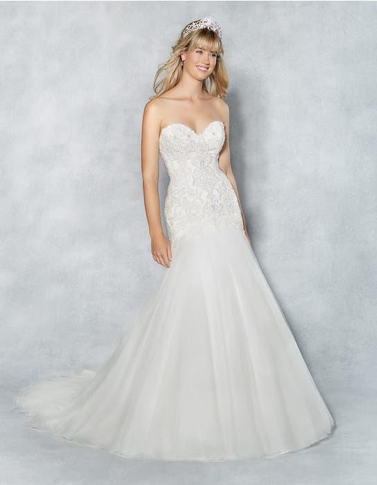 Amanie fishtail wedding dress front Viva Bride