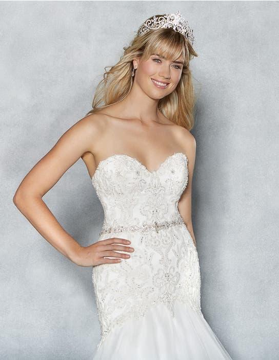 Amanie fishtail wedding dress front crop Viva Bride