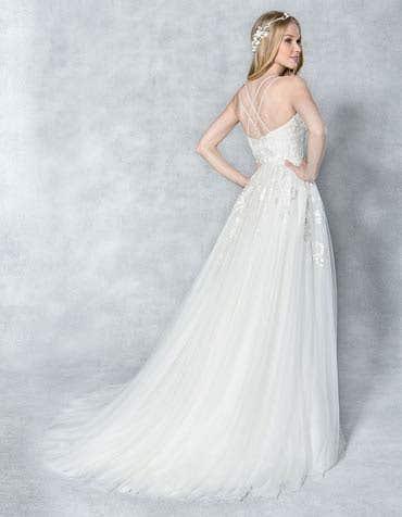 Anaia aline wedding dress back Viva Bride th