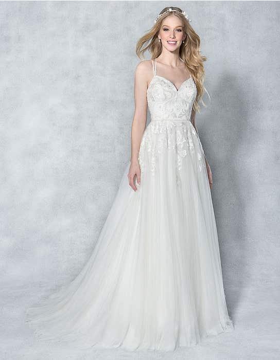 Anaia aline wedding dress front Viva Bride