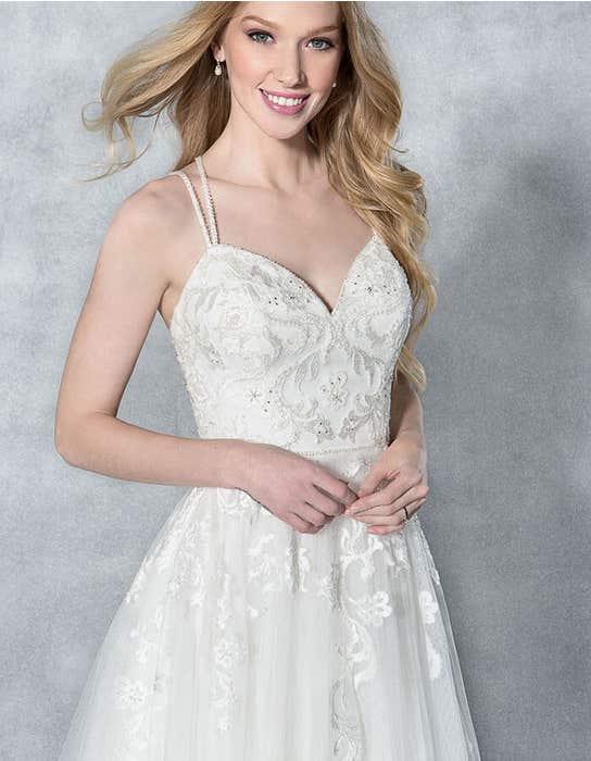 Anaia aline wedding dress front crop Viva Bride