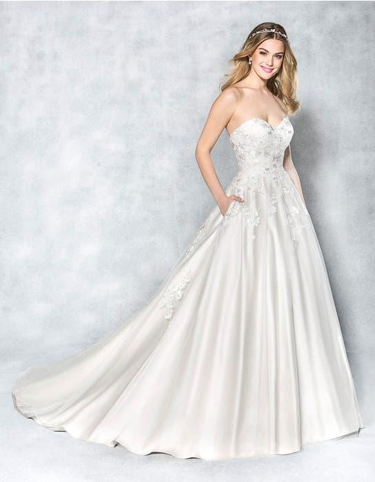 Anastasia aline wedding dress front Viva Bride