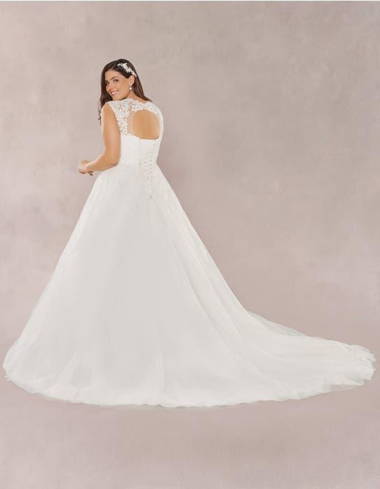 Annie aline wedding dress back Bellami
