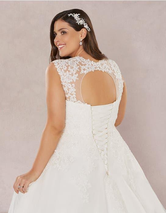 Annie aline wedding dress back crop Bellami