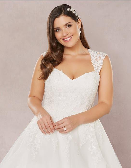 Annie aline wedding dress crop front Bellami
