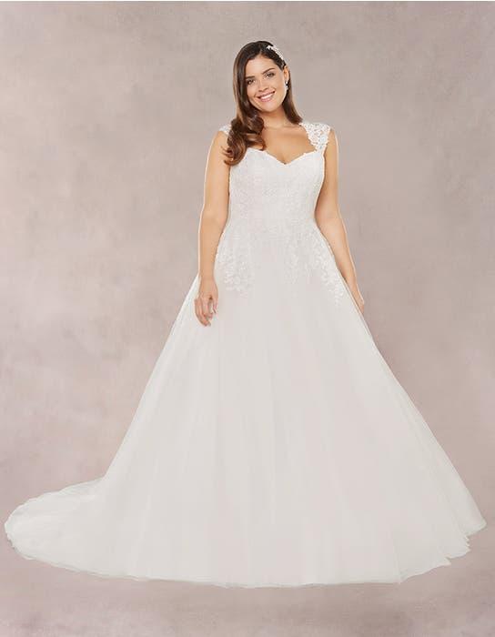 Annie aline wedding dress front Bellami