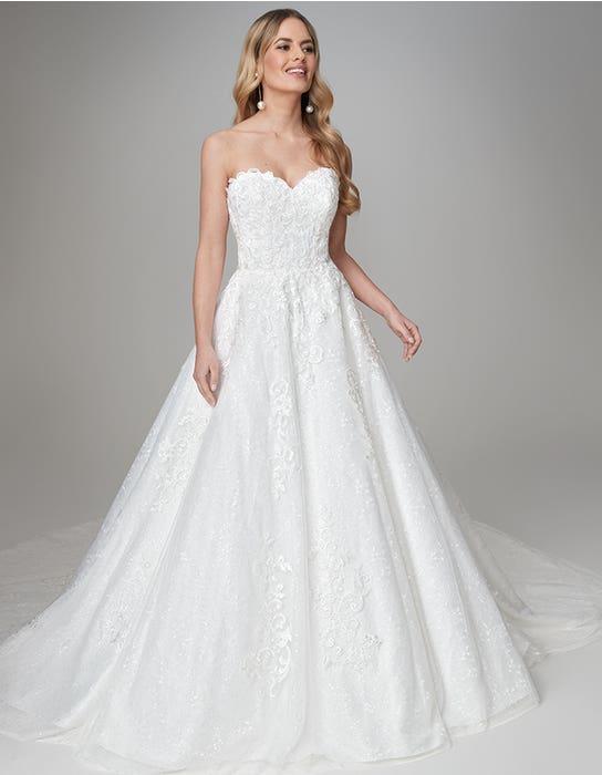 April aline wedding dress Front Anna Sorrano