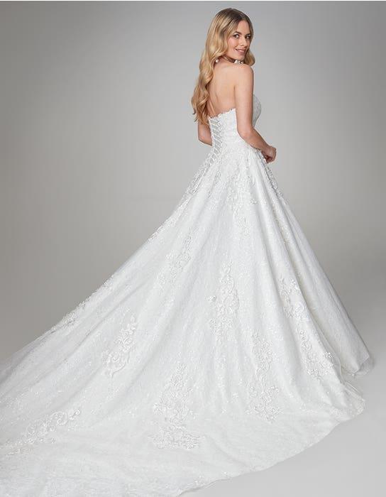 April aline wedding dress back Anna Sorrano