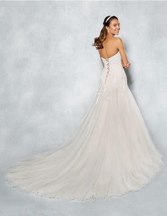 Arizona fit _ flare wedding dress back Viva Bride
