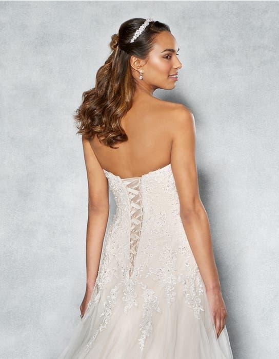 Arizona fit _ flare wedding dress back crop Viva Bride