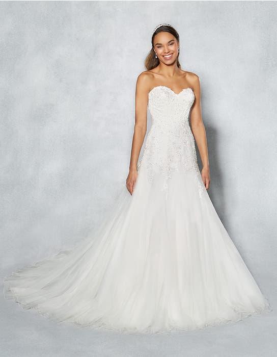 Arizona fit _ flare wedding dress front Viva Bride