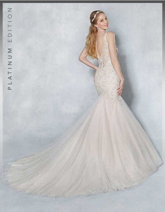 Armelle fishtail wedding dress back Viva Bride