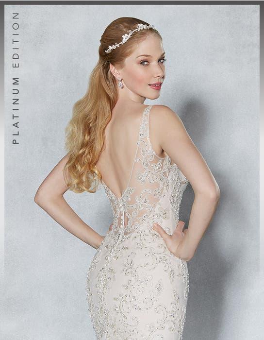 Armelle fishtail wedding dress crop back Viva Bride