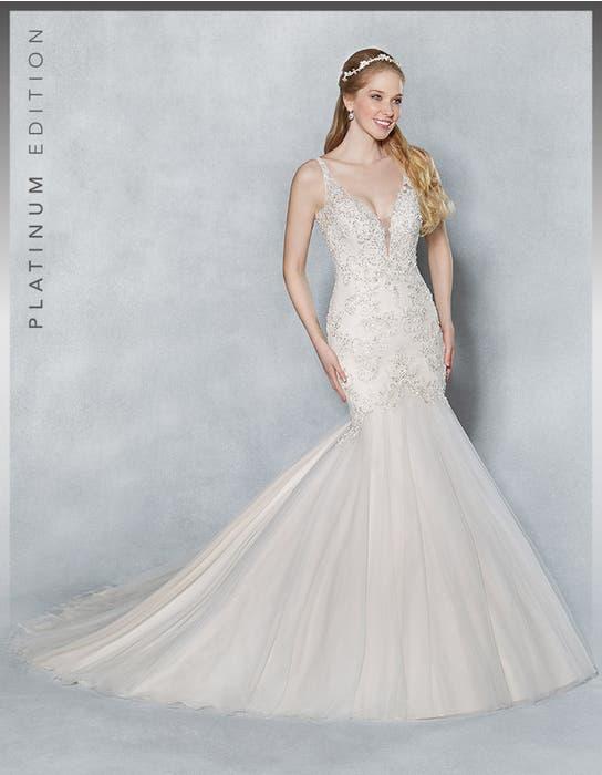 Armelle fishtail wedding dress front Viva Bride