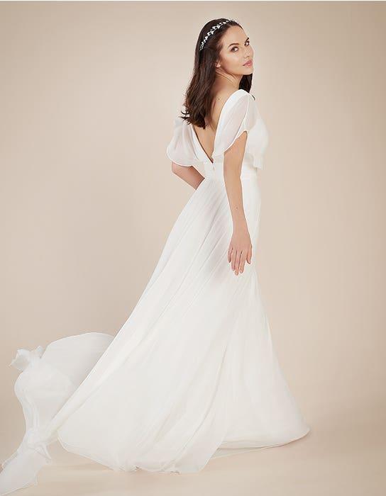 Ashley Aline wedding dress back Heidi Hudson