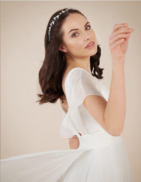 Ashley Aline wedding dress back crop Heidi Hudson
