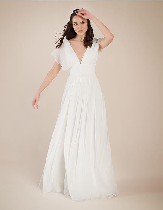 Ashley Aline wedding dress front Heidi Hudson