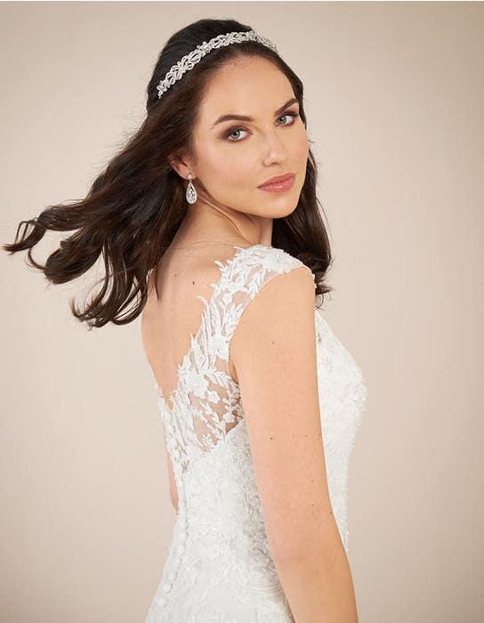 Astrid fit _ flare wedding dress back crop Viva Bride