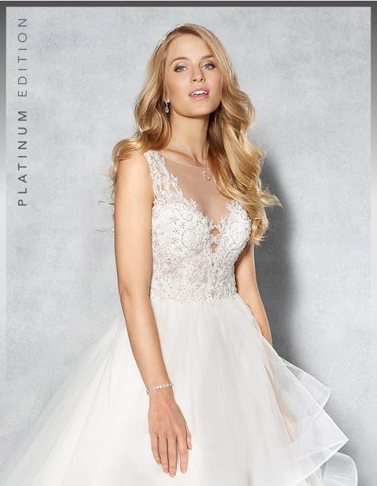 Atlanta ballgown wedding dress crop back Viva Bride