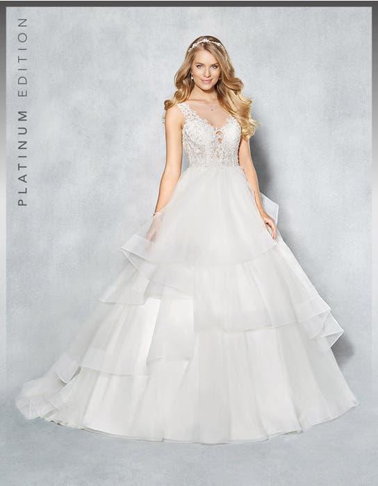 Atlanta ballgown wedding dress front Viva Bride