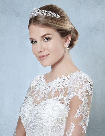 AURELIA - een prinsessen stijl bruidstiara