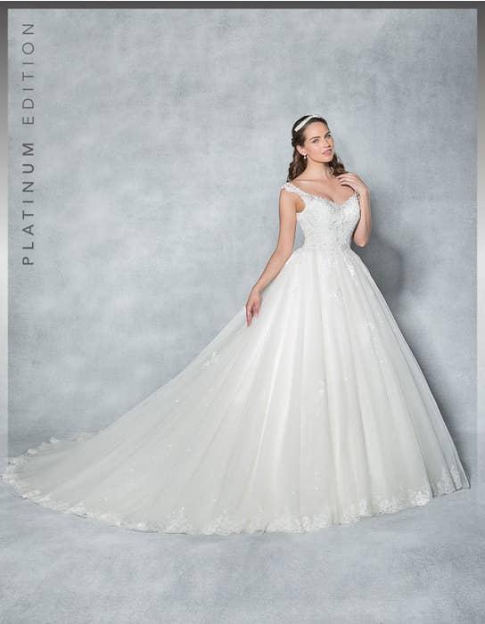 Aurora ballgown wedding dress front Viva Bride