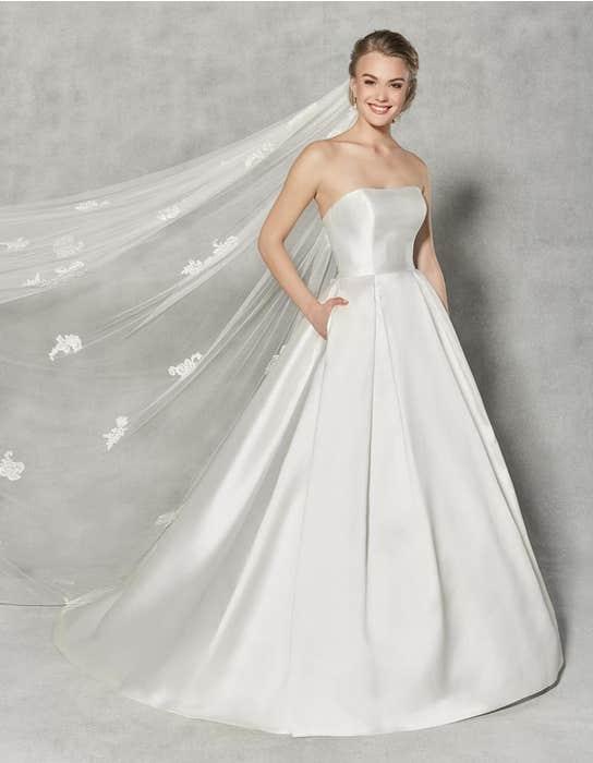 Austen ballgown wedding dress front Anna Sorrano
