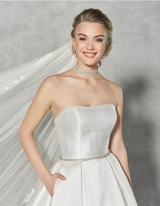 Austen ballgown wedding dress front crop Anna Sorrano