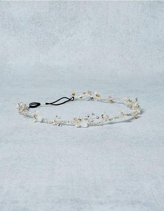 Autumn bridal hair accessory detail Amixi