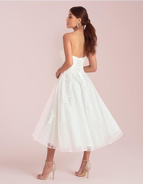 Avril short wedding dress back Viva Bride
