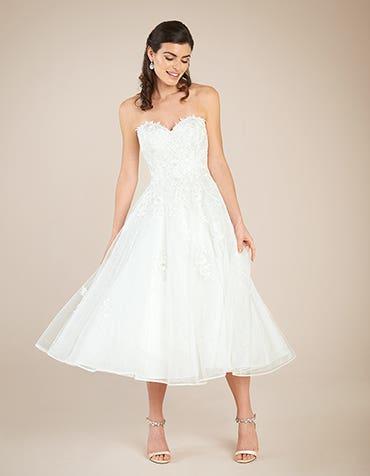 Avril short wedding dress front Viva Bride th